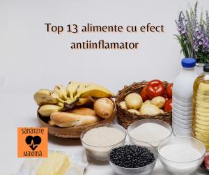 proprietăți antiinflamatorii
